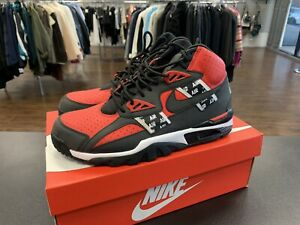 check out c470b da9c2 NIKE AIR TRAINER SC HIGH SOA BO JACKSON AQ5098 600 SPEED RED BLACK ...