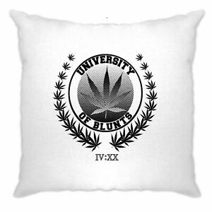 Stoner-Cushion-Cover-University-of-Blunts-IV-XX-420-Logo-Weed-Culture-Marijuana