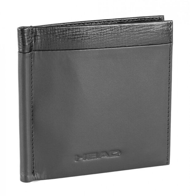 HEAD Fermasoldi Glide Clip Wallet Black