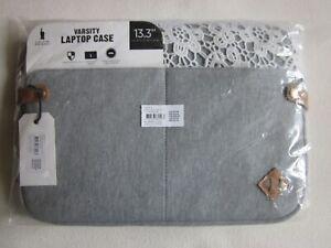 Varsity-140278-17-Laptop-Case-13-3-034-grau-mit-Spitze