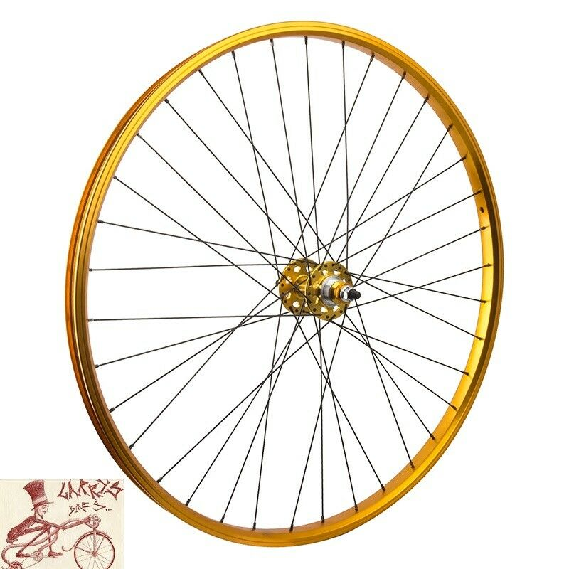 SE BIKES FLIP FLOP HUB SEALED BEARING 29   gold REAR WHEEL