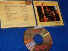 CD FLUTE RECITAL trevor WYE clifford BENSON flauto PIANO recital A LATIN BOUQUET