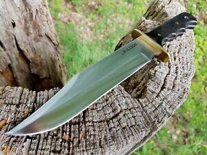 * Bullson Cuir-fourreau Busch Couteau Knife Couteau De Chasse Machette Machette Couteau-afficher Le Titre D'origine
