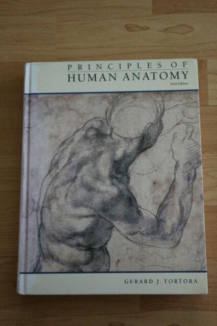 Principles of Human Anatomy, 6th ed. Tortora, auf Englisch Gebundene Ausgabe
