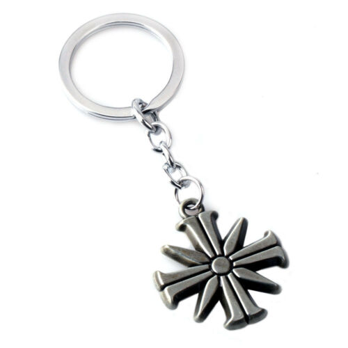 2018 Far Cry 5 Action Figure Toy Eden/'s Gate Metal Keychain Keyring Necklace