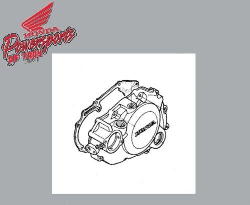 GENUINE HONDA OEM 2004-2005 TRX450R STATOR COVER W//GASKET