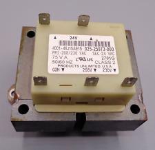 Electric Transformer 025 25973 000 5060 Hz Class 2 Used 4001 46j15ae15