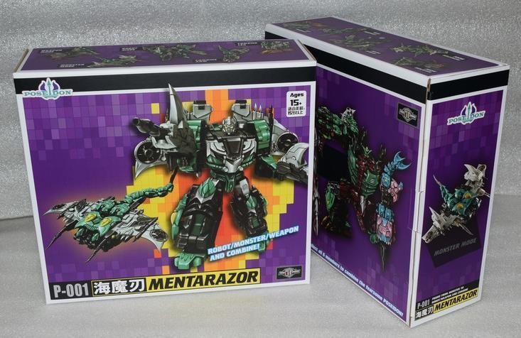 Nuevos Transformers de TFC Poseidon P-001 mentarazor Seawing Piranacon figura En Stock