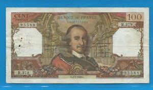 100 Francs Corneille Du 2-1-1969 R.379 Xvahfp43-08001635-291913923