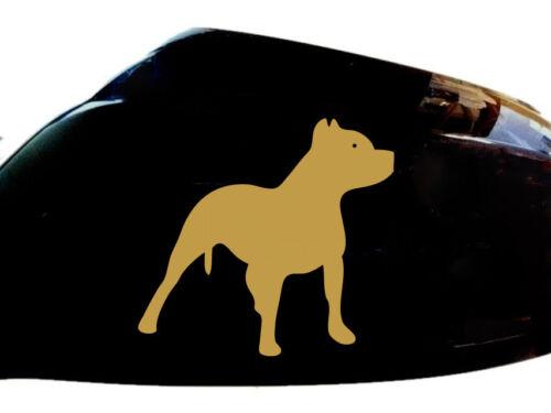 lot de 2 Billie holiday autocollant voiture chien style miroir aile d/'autocollants gold