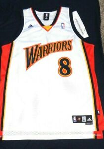 Details about Monta Ellis # 8 Golden State Warriors Swingman Adidas NBA Basketball Jersey XL