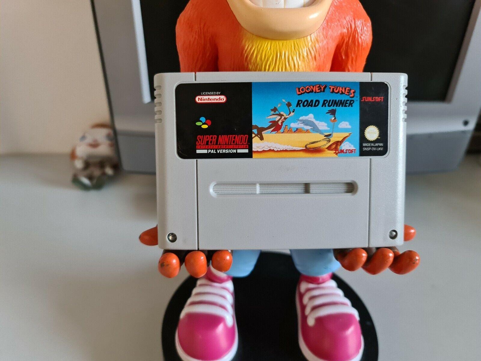Looney Tunes Road Runner Super Nintendo SNES Cart Only PAL