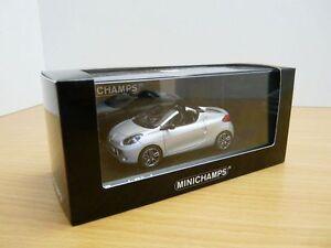 Renault Wind Gris Platine 2010 Minichamps 400113930 1/43 Argent Silber Platinium