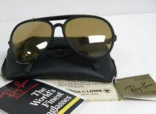 New Vintage B&L Ray Ban R-B High Performance HP1 Black RB-50 General Cats W0696