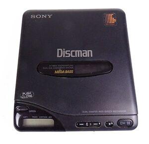 SONY-D-66-DISCMAN-COMPACT-DISC-CD-PLAYER-Mega-Bass-Untested