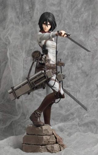 Mikasa Ackerman Attack On Titan new 2016 1//7 Unpainted figure Model Resin Kit