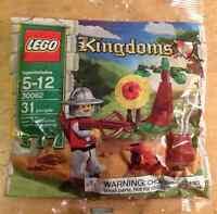 Lego Kingdom Polybag 30062 Target Practice Castle Archer Knight Stocking Stuffer