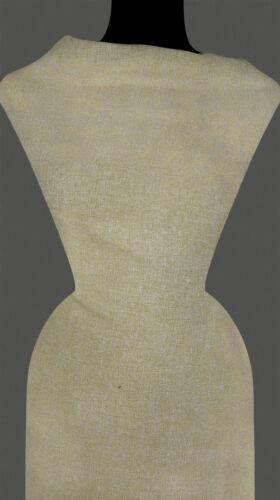 50cm STOFF Kostümstoff Baumwollmischung sandfarben-beige 9,40 €//m
