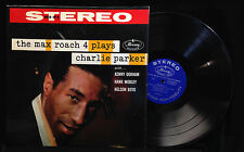 Max Roach 4-Plays Charlie Parker-Mercury 80019-STEREO