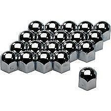 17mm Chrome Stainless Steel Wheel Nut Covers fits MINI ONE F55 F56 R56