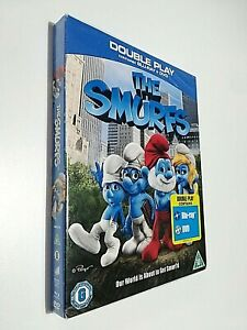 THE SMURFS BLURAY - I PUFFI - LINGUA INGLESE BLURAY + DVD