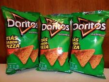 Doritos Pizzerola by SABRITAS 3pack X 2.05 Oz Chilli & Pizza Corn Snacks WOW