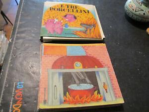 """El Tre Cerditos - Fatatrac 1983 - Gioco Vintage Niños Card"""" Tarjetas En Tabla """""""
