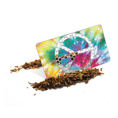 Smokers Metal Tobacco Grinder Portable Key Chain Tool Yin Yang