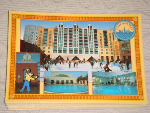 Carte Postale ancien Disney /'s Hotel New York Disneyland Paris NEUVE