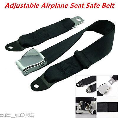 14/'/' Car black seat seatbelt adjustable safety belt extender extension buckSN