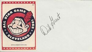 Dick Groat Signed 4x6 1/2 Envelope - PSA/DNA # W40417