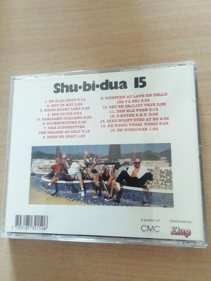 Shubidua: 15, andet