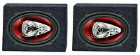2) Boss Ch6940 6x9 500w 4-way Car Speakers + 2) Qtw6x9 Angled 6x9 Speaker Box on sale