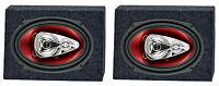 2) Boss Ch6940 6x9 500w 4-way Car Speakers + 2) Qtw6x9 Angled 6x9 Speaker Box on sale