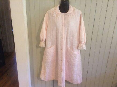 Vintage Pink Medium Flobert lined Robe