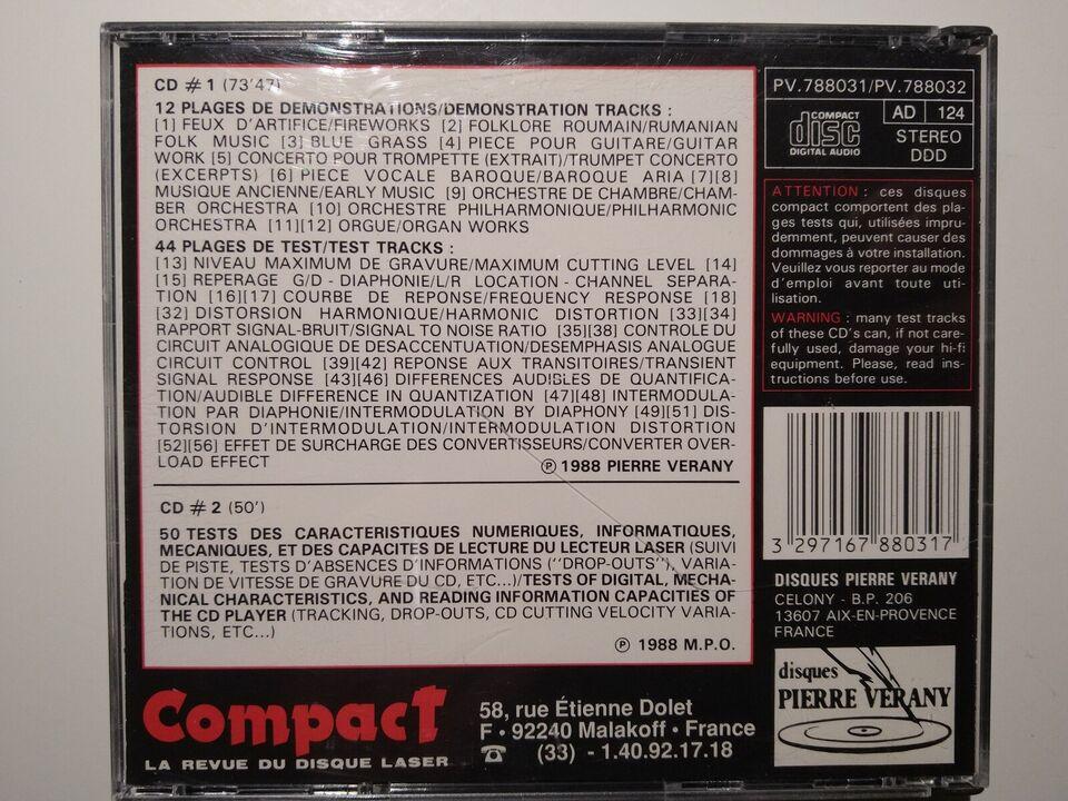 Digital Test: 2 x CD, andet