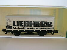 Minitrix N 51 3245 00 Güterwagen Liebherr DB (RG/BR/8S3)