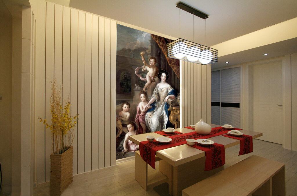 3D Persone 63 Parete Murale Foto Carta da parati immagine sfondo muro stampa