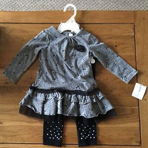 Baby Girl Costume Taille 9 Mois-afficher Le Titre D'origine éLéGant Et Gracieux