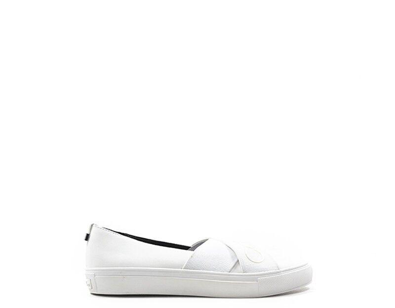 Zapatos promocionales para hombres y mujeres Scarpe CALVIN KLEIN Donna BIANCO  E6692-WH