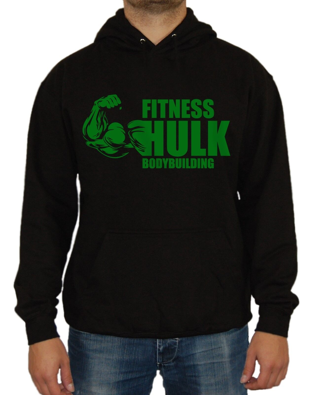 Fitness Hulk Kapu Fun Comic Kult Superheld Film Iron Captian Batman Avengers