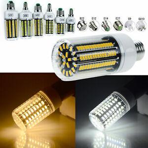 LED-Corn-Light-Lamp-E12-E14-E27-B22-LED-Bulb-Replace-30-165W-No-Flicker-RK163