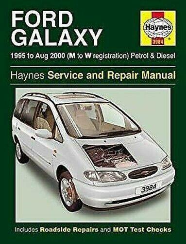 Ford Galaxy Service und Reparatur Handbuch: Modelle Bedeckt,MPV