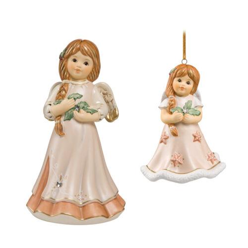 1x Jahresengel und 1x Jahresengelglöckchen 2017 Engel Glocke 2x Goebel NEU