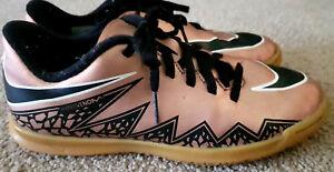US-Size-3-Youth-Nike-Hypervenom-Indoor-Soccer-Boots-22cm-foot-size-034-Futsal-034