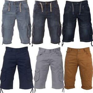 New-ETO-Mens-Cargo-Combat-Shorts-Casual-Summer-Cotton-Half-Pants-All-Waist-Sizes