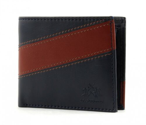 CC Geldbörse Blue Cognac Blau LA MARTINA San Carlos Wallet with Purse