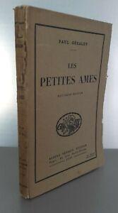 Paul Geraldy Guantone I Petites Souls Edizione Nuovo 1920 A.Messein Parigi Pin