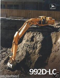 Equipment-Brochure-John-Deere-992D-LC-Excavator-c1990-E2505