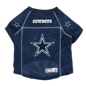 Dallas-Cowboys-LEP-NFL-Dog-Mesh-Jersey-Officially-Licensed-Blue-Sizes-XS-XL